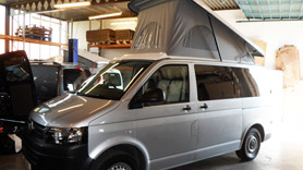 T5 Campervan Roof shown on vehicle