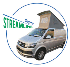 Super High Lift, Low Profile Campervan Roof shown on vehicle