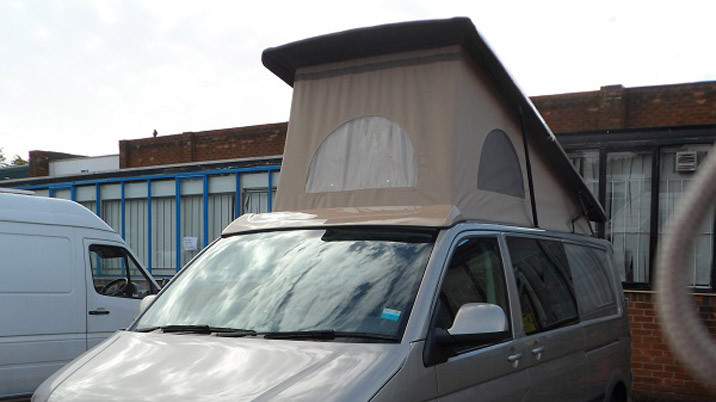 Streamline High Lifting and Low Profile Campervan Roofs   Slimline
